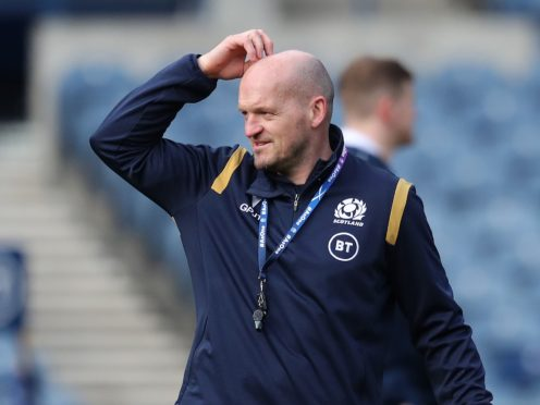 Scotland head coach Gregor Townsend leads his side against Italy on Saturday (Jane Barlow/PA)