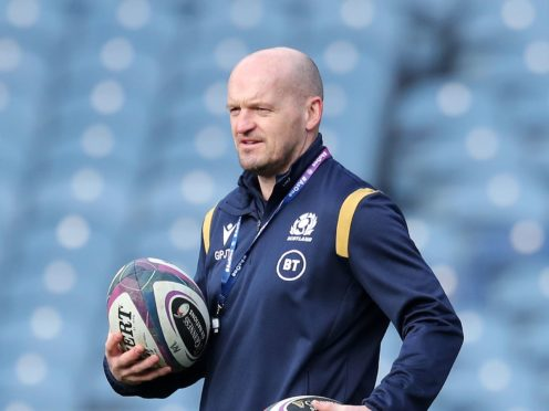 "Head coach Gregor Townsend, pictured, believes Scotland reached a ""satisfactory"" outcome in player release discussions with English clubs (Jane Barlow/PA)"