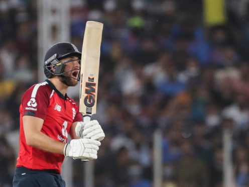 Dawid Malan has been short of his best in the T20 series against India (Aijaz Rahi/AP)
