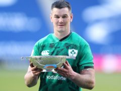 Johnny Sexton helped Ireland retain the Centenary Quaich by leading them to victory over Scotland (Jane Barlow/PA)