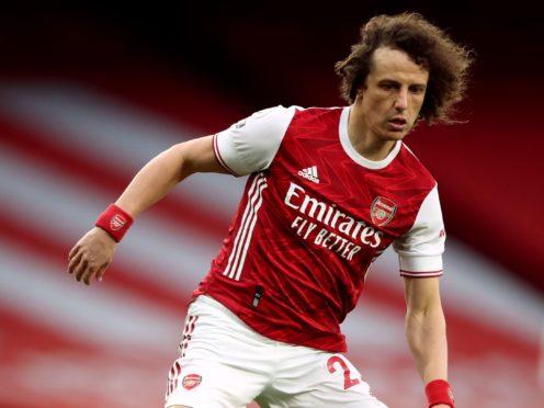 David Luiz helped Arsenal to north London derby victory over Tottenham on Sunday (Nick Potts/PA)