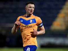 Mansfield skipper Ollie Clarke missed Saturday's 2-2 draw with Carlisle (Mike Egerton/PA).