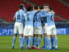 Manchester City will face Borussia Dortmund in the Champions League quarter-final (Trenka Atilla/PA)