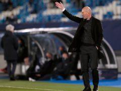 Real Madrid head coach Zinedine Zidane was impressed with his side's professionalism against Atalanta (AP Photo/Bernat Armangue/Press Association Images)