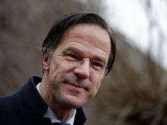 Dutch caretaker Prime Minster Mark Rutte (Peter Dejong/AP)