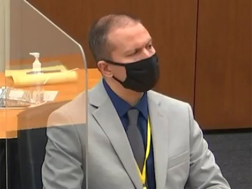 Derek Chauvin (Court TV, via AP, Pool)