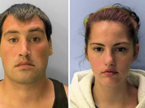 Michael Roe and Tiffany Tate have been jailed over their infant daughter's death (Sussex Police/PA)