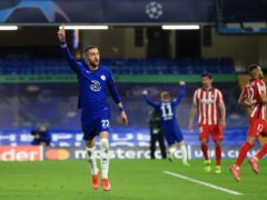 Hakim Ziyech scored for Chelsea (Adam Davy/PA)