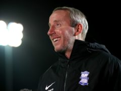 Lee Bowyer has faith in his Birmingham squad (Nick Potts/PA)