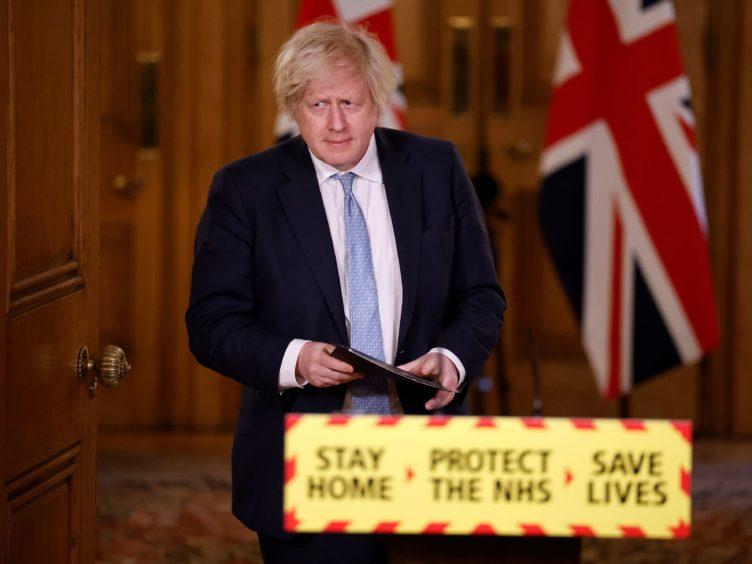 Boris Johnson said disruption in supplies is 'inevitable' (Tolga Akmen/PA)