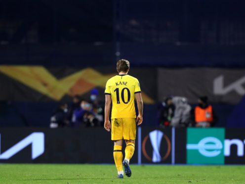 Tottenham were dumped out of the Europa League by Dinamo Zagreb (Luka Stanzl/PA)