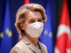 European Commission president Ursula von der Leyen (AP)