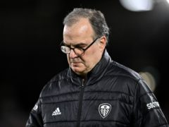 Marcelo Bielsa believes Leeds' Premier League safety is not yet confirmed (Justin Setterfield/PA)