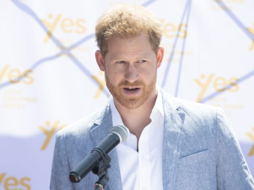 The Duke of Sussex has been working for coaching and mental health firm BetterUp for a 'few months'(Facundo Arrizabalaga/PA)