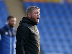 Hull manager Grant McCann was pleased with his side's point at Shrewsbury (Barrington Coombs/PA)