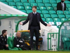 Rangers manager Steven Gerrard feels both Old Firm sides demonstrated class (Andrew Milligan/PA)