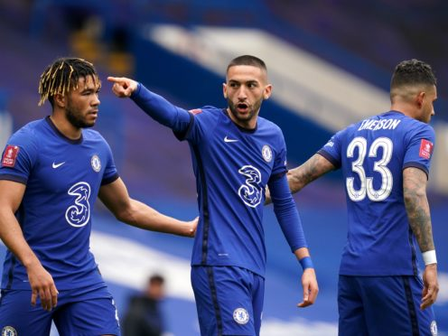 Chelsea will face Porto in Seville (John Walton/PA)