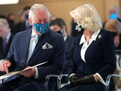 The Prince of Wales and the Duchess of Cornwall visit the National Gallery in Athens (Chris Jackson/PA)