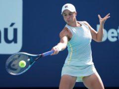 Ashleigh Barty won the final five games to beat Kristina Kucova (Marta Lavandier/AP)