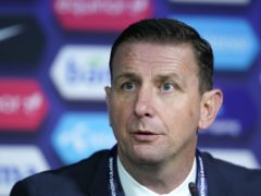 Ian Baraclough said his Northern Ireland side would put pressure on themselves for Wednesday's qualifier (Fredrikh Hagen/PA)