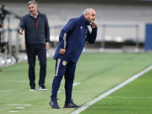 Steve Clarke saw his side claim another draw in Israel (Ariel Schalit/AP)