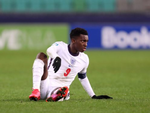 England Under-21 captain Eddie Nketiah has defended the side (Luka Stanzl/PA)