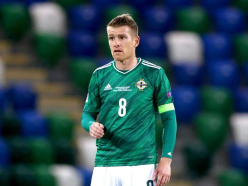 Steven Davis wants to mark his record-breaking night with three points (Liam McBurney/PA)