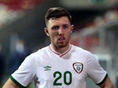 Republic of Ireland's defender Dara O'Shea is backing manager Stephen Kenny (Trenka Attila/PA)