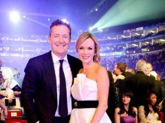 Piers Morgan and Amanda Holden (Ian West/PA)