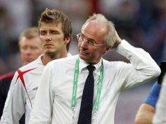 Sven-Goran Eriksson agreed a new contract in 2004 (PA)