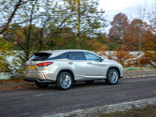 The Lexus RX L has space for seven and a hybrid powertrain