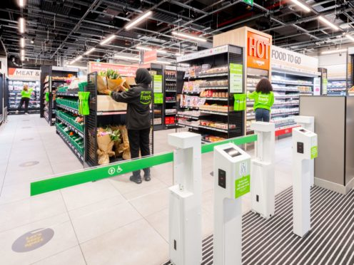 Amazon Fresh will open its doors in Ealing on Thursday (Amazon/PA)