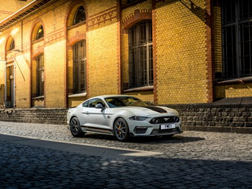 The Mustang Mach 1 is set to arrive in the UK this summer