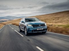 The Sorento feels quiet and composed on the move