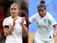 Steph Houghton and Nikita Parris do not feature in the England Women squad for the April camp (John Walton/Richard Sellers/PA)