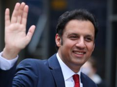 Anas Sarwar said he is showing 'bold leadership' by running against First Minister Nicola Sturgeon (Andrew Milligan/PA)