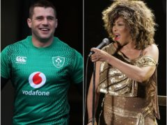 CJ Stander was treated to a rendition of Tina Turner's 'The Best' by his Ireland team-mates ahead of his impending retirement (Niall Carson/Brian Lawless/PA)