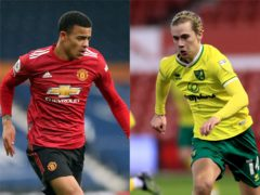 Mason Greenwood has withdrawn from England Under-21s' squad and been replaced by Todd Cantwell (Nick Potts/Mike Egerton/PA)