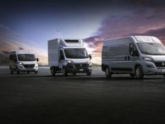 The E-Ducato delivers both efficiency and practicality