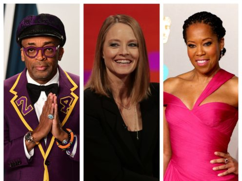 Spike Lee, Jodie Foster and Regina King (PA)