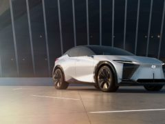 The LF-Z showcases what future Lexus models could look like