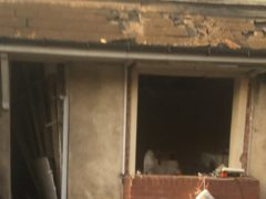 Two men have been taken to hospital after a gas explosion at a property in Walsall (West Midlands Ambulance Service/PA)
