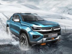 The new sketch shows what the Amarok could look like