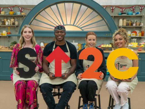 The Great Celebrity Bake Off contestants (Channel 4/Love Productions/Mark Bourdillon)