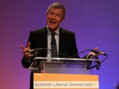 Scottish Lib Dem leader Willie Rennie said he believed his party could gain seats in May's Holyrood election. (Andrew Milligan/PA)