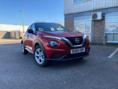 The first-generation Juke proved a hit with buyers
