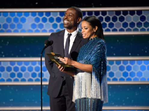 Sterling K Brown and Susan Kelechi Watson addressed a lack of diversity among Golden Globes voters (HFPA/PA)