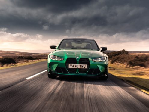 The front kidney grilles of the car have certainly been a talking point
