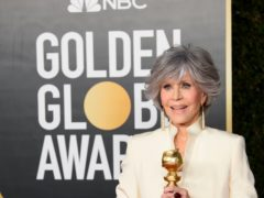 Jane Fonda said Hollywood has been 'afraid' to tackle its diversity problem as she delivered a powerful speech during the Golden Globes (HFPA/PA)