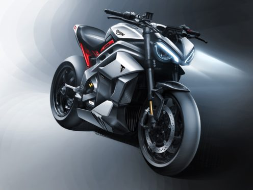 These initial sketches show what the bike will look like